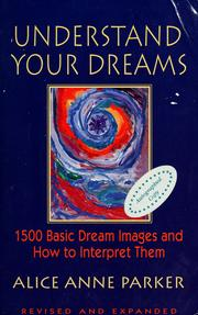 Cover of: Understand your dreams