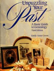 Cover of: Unpuzzling your past | Emily Anne Croom