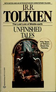 Cover of: Unfinished Tales