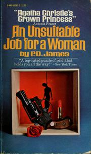 Cover of: An unsuitable job for a woman | P. D. James