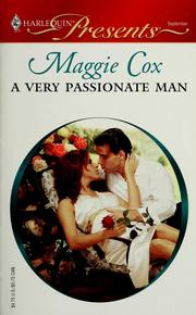 Cover of: A very passionate man | Maggie Cox