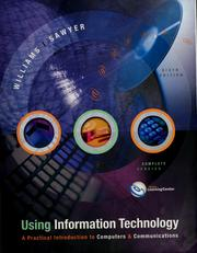 Cover of: Using information technology | Brian K. Williams