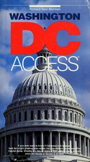 Cover of: Washington, DC access | Richard Saul Wurman