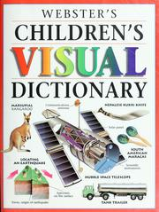 Cover of: Webster's childrens visual dictionary |