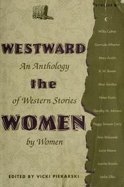 Cover of: Westward the women |