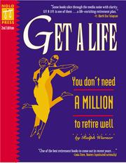 Cover of: Get a life | Ralph E. Warner