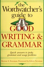 A handbook of problem words & phrases by Morton S. Freeman