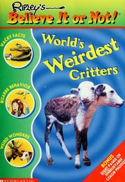 Cover of: World's Weirdest Critters (Ripley's Believe It or Not)