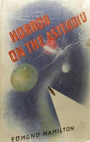 Cover of: The Horror on the Asteroid: And Other Tales of Planetary Horror