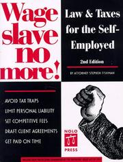 Cover of: Wage slave no more | Stephen Fishman