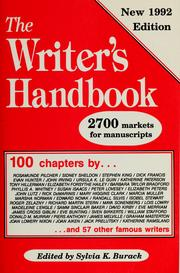 Cover of: The Writer's handbook | Sylvia E. Kamerman