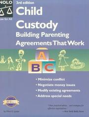 Cover of: Child custody