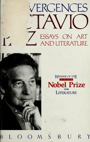 Cover of: Convergences | Octavio Paz