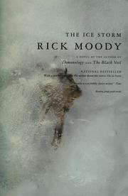 Cover of: The ice storm | Rick Moody