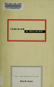 Cover of: Feminism and religion | Rita M. Gross