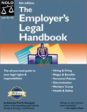 Cover of: The employer