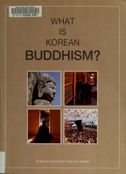 Cover of: What is Korean Buddhism? | Taehan Pulgyo Chogyejong