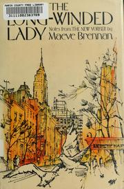 Cover of: The long-winded lady | Maeve Brennan