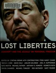 Cover of: Lost Liberties | Aryeh Neier