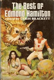 Cover of: The Best of Edmond Hamilton