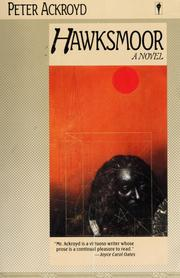 Cover of: Hawksmoor | Peter Ackroyd