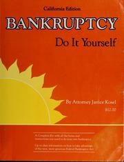 Cover of: Bankruptcy | Janice Kosel