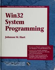 Cover of: Win32 System Programming | Johnson M. Hart