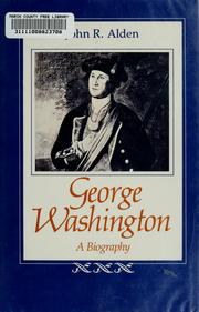 George Washington by John Richard Alden
