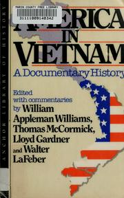 Cover of: America in Vietnam | edited with commentaries by William Appleman Williams ... [et al.].