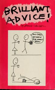 Cover of: Brilliant advice | Annie Lawson