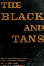 Cover of: The Black and Tans | Bennett, Richard