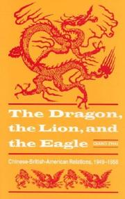 Cover of: The dragon, the lion & the eagle
