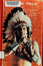 Cover of: Indian talk by Iron Eyes Cody