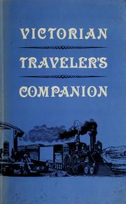 Cover of: Victorian traveler's companion | Holly Chamberlain