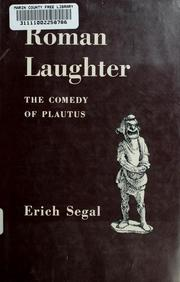 Cover of: Roman laughter | Erich Segal