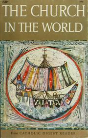Cover of: The church in the world by