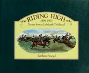 Cover of: Riding high, 1896-1903 | Barbara Sneyd