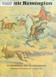 Cover of: 173 drawings and illustrations. | Frederic Remington