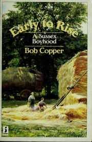 Cover of: Early to rise | Bob Copper