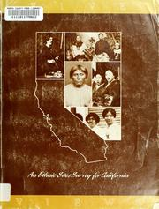 Cover of: Five views : an ethnic sites survey for California | California. Office of Historic Preservation