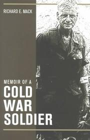 Cover of: Memoir of a Cold War Soldier