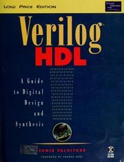 Cover of: Verilog HDL | Samir Palnitkar