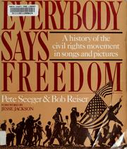 Cover of: Everybody says freedom