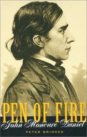 Cover of: Pen of fire