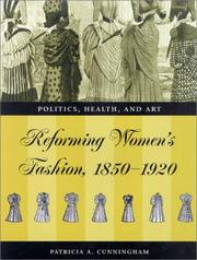 Cover of: Reforming Women's Fashion, 1850-1920