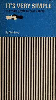 Cover of: It's very simple | Alan Stang