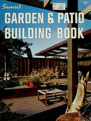 Cover of: Garden and patio building book |