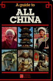 Cover of: A Guide to All China by Simon Holledge