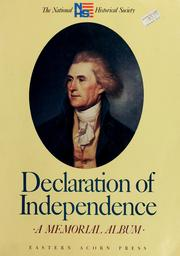 Cover of: Declaration of Independence | Joseph P. Cullen