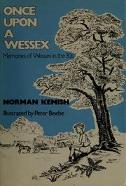 Cover of: Once upon a Wessex | Norman Kemish